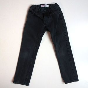 Levi's 511 Slim Black Jeans size 8 regular